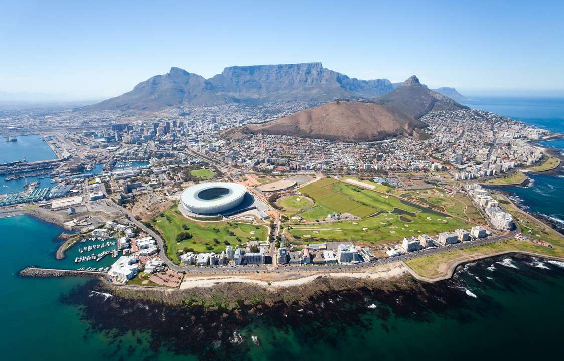 Aerial View, Cape Town, South Africa