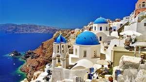 Greece - A week on Mykonos & Santorini