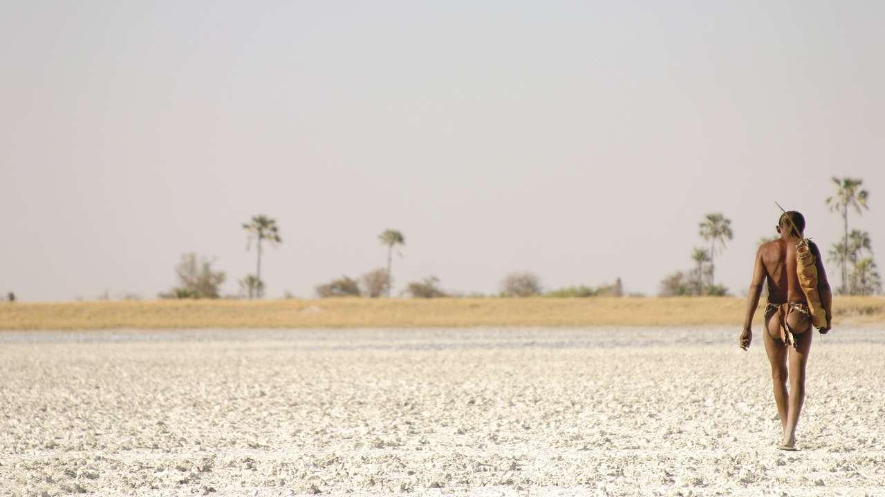 Bushman, Kalahari, Botswana