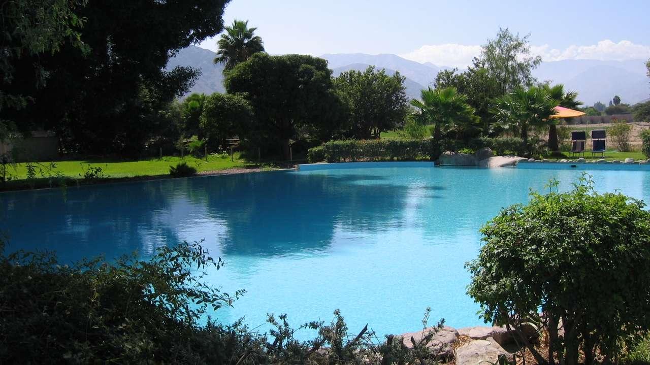 Pool, Hacienda Cantayo, Nazca, Peru