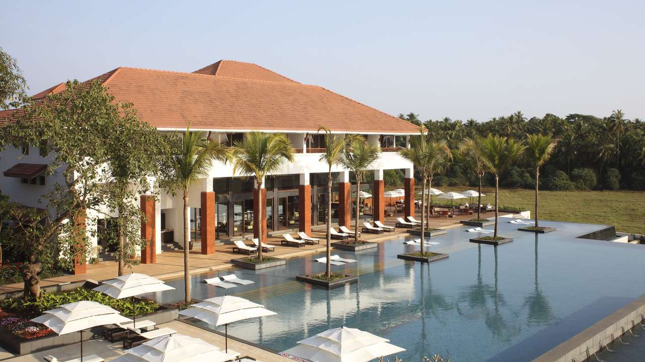 Swimming Pool, Alila Diwa, Goa, India