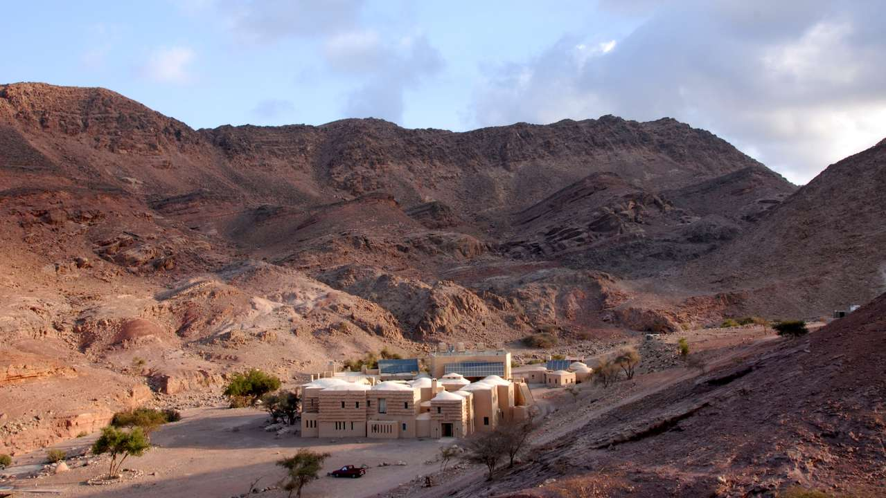 Exterior View, Feynan Eco Lodge, Dana Valley, Jordan