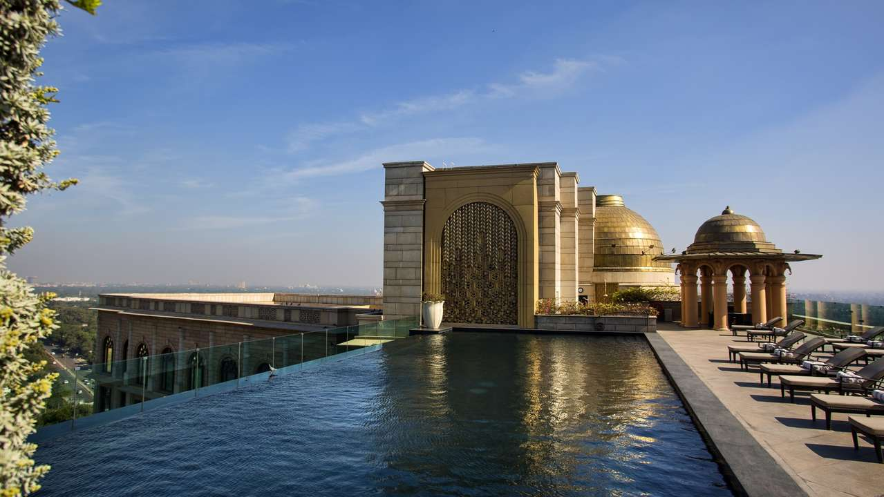 Swimming Pool, The Leela Palace, New Delhi, Delhi, India