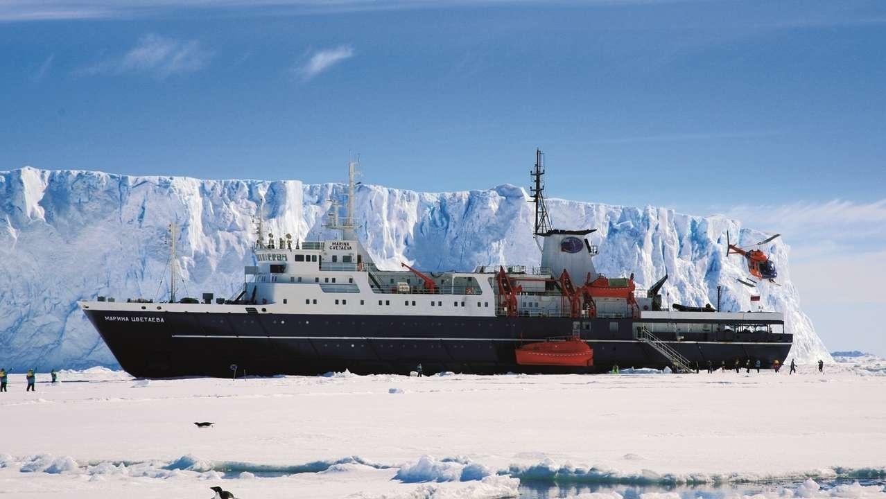 Exterior Front View, Ortelius, Antarctica