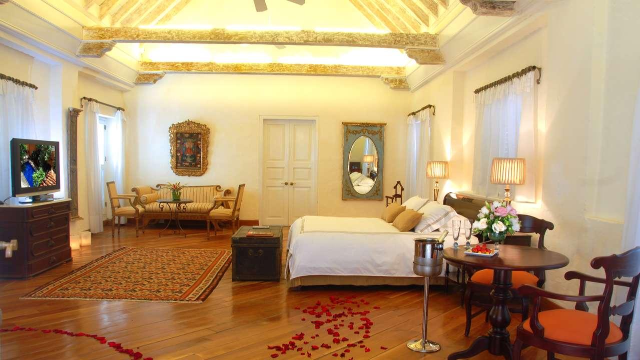 Double Room, Casa Pestagua Hotel, Cartagena, Colombia