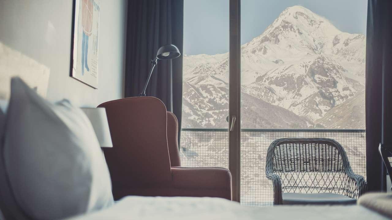 Rooms Hotel Kazbegi Menu