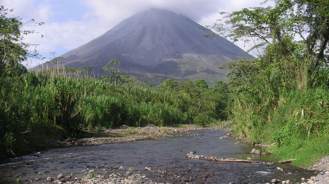 View of Arenal Volcano, Arenal Observatory Lodge, Arenal, Costa Rica