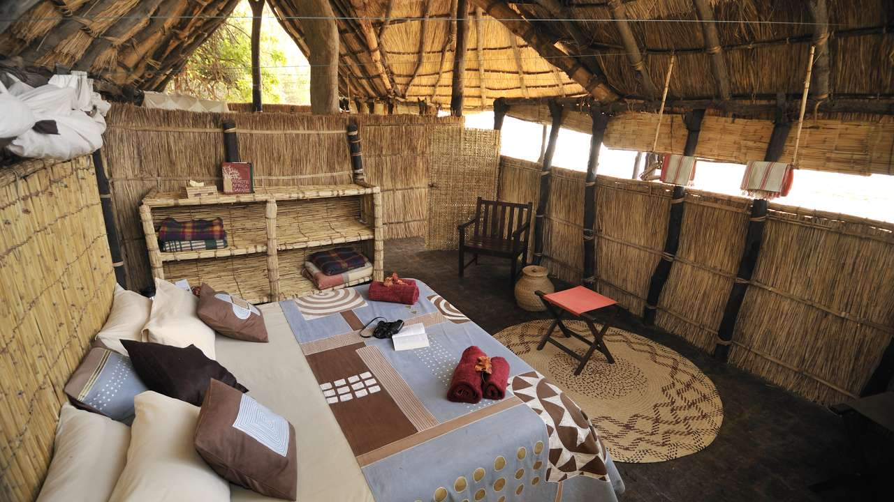 Double Room, Tafika Camp, South Luangwa, Zambia