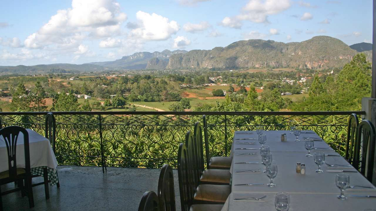 Views from Restaurant, Hotel La Ermita, Pinar del Rio, Cuba