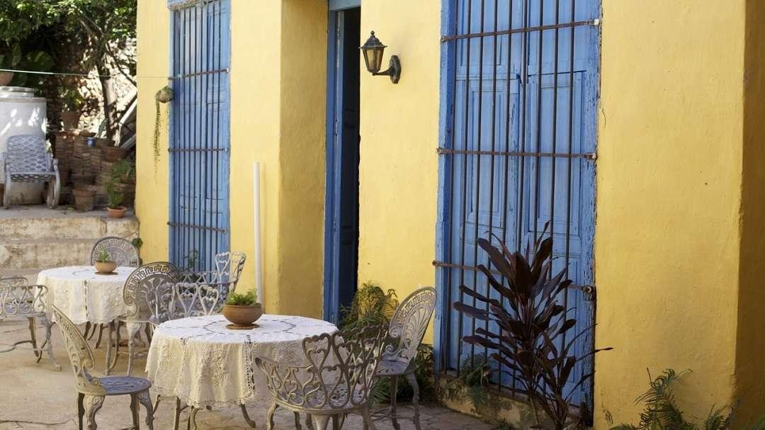 Courtyard, Casa Cofradia, Trinidad, Cuba
