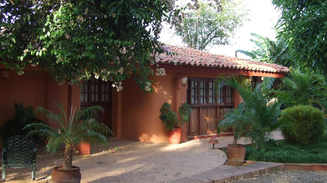 Exterior Front View, Finca Kenia, Trinidad, Cuba