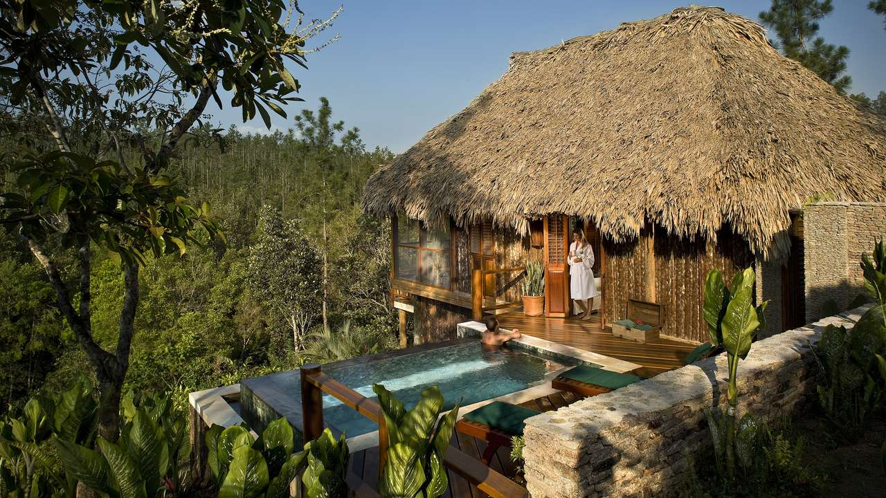 Cabana, Blancaneaux Lodge, Mountain Pine Ridge, Belize