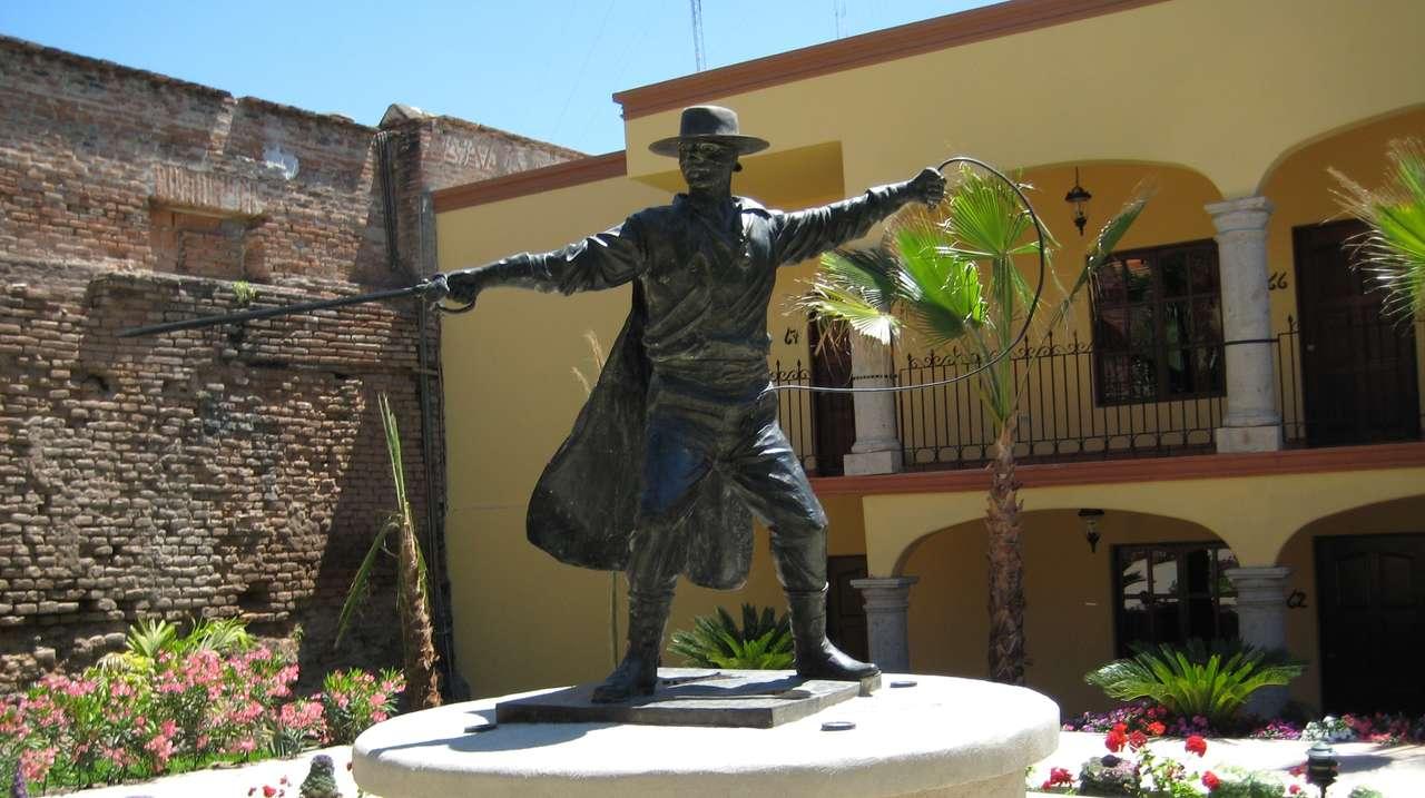 Exterior Front View, Posada del Hidalgo, El Fuerte, Mexico