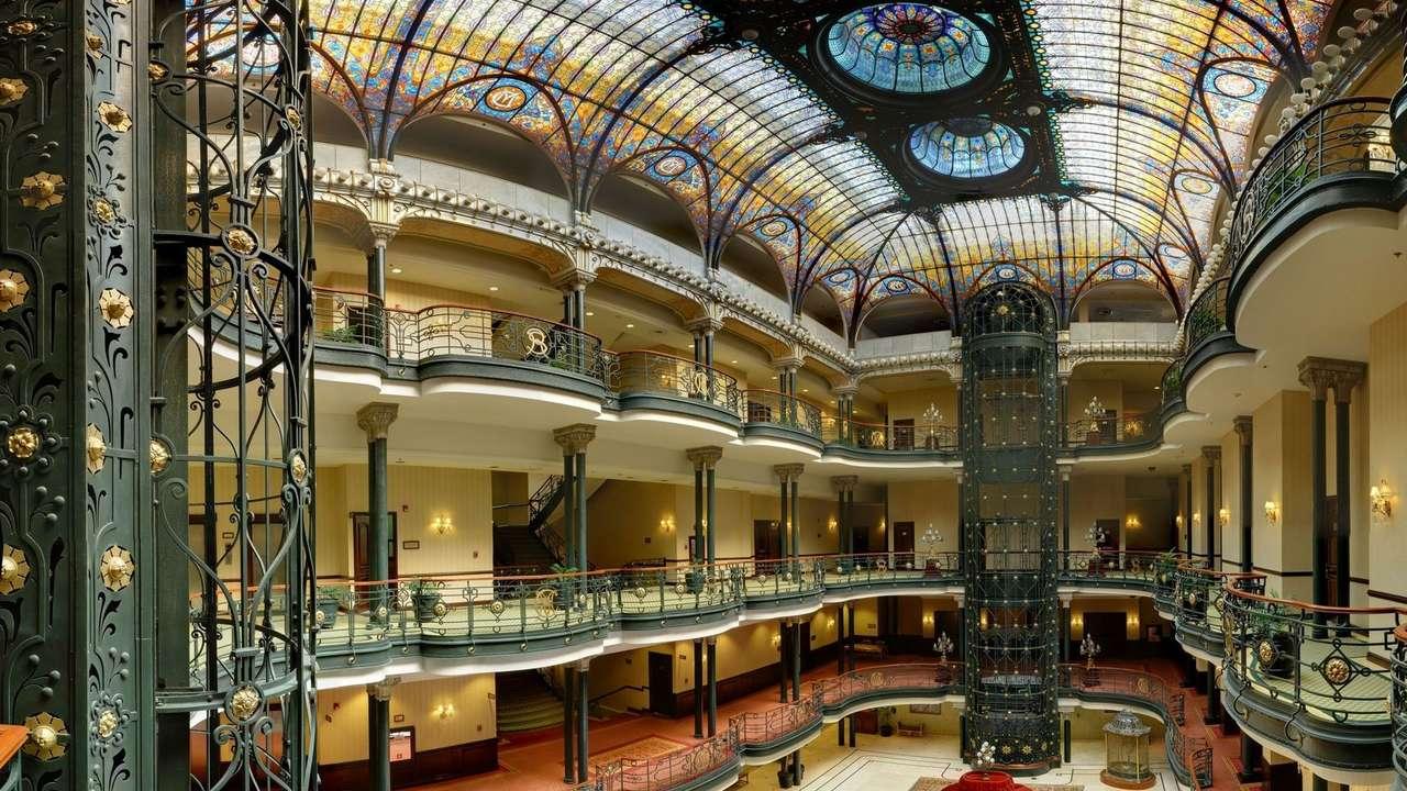 Lobby, Gran Hotel Ciudad de Mexico, Mexico City, Mexico