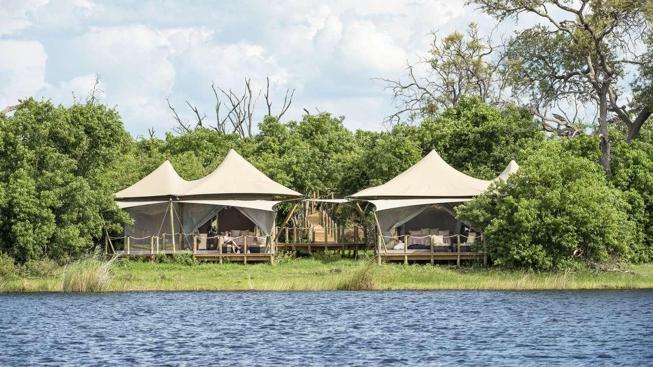 Exterior View, DumaTau Camp, Kwando-Linyanti, Botswana
