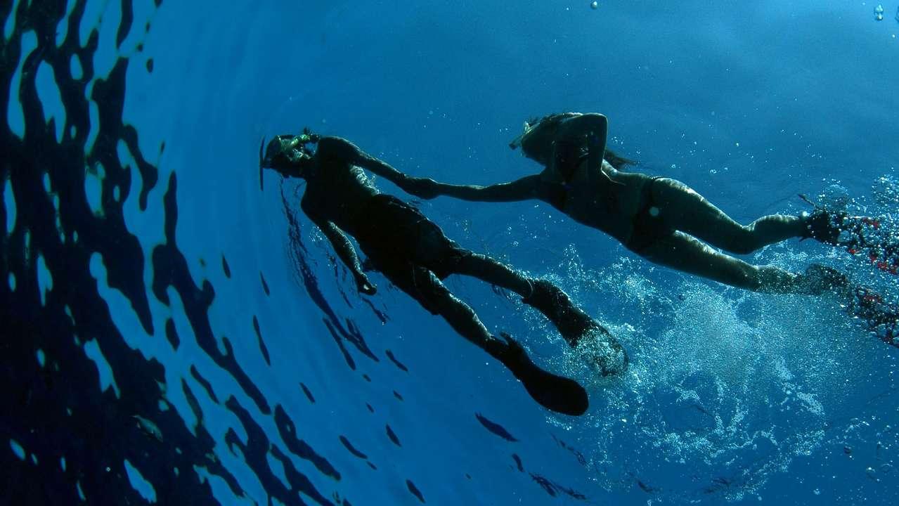 Snorkellers, Cuba