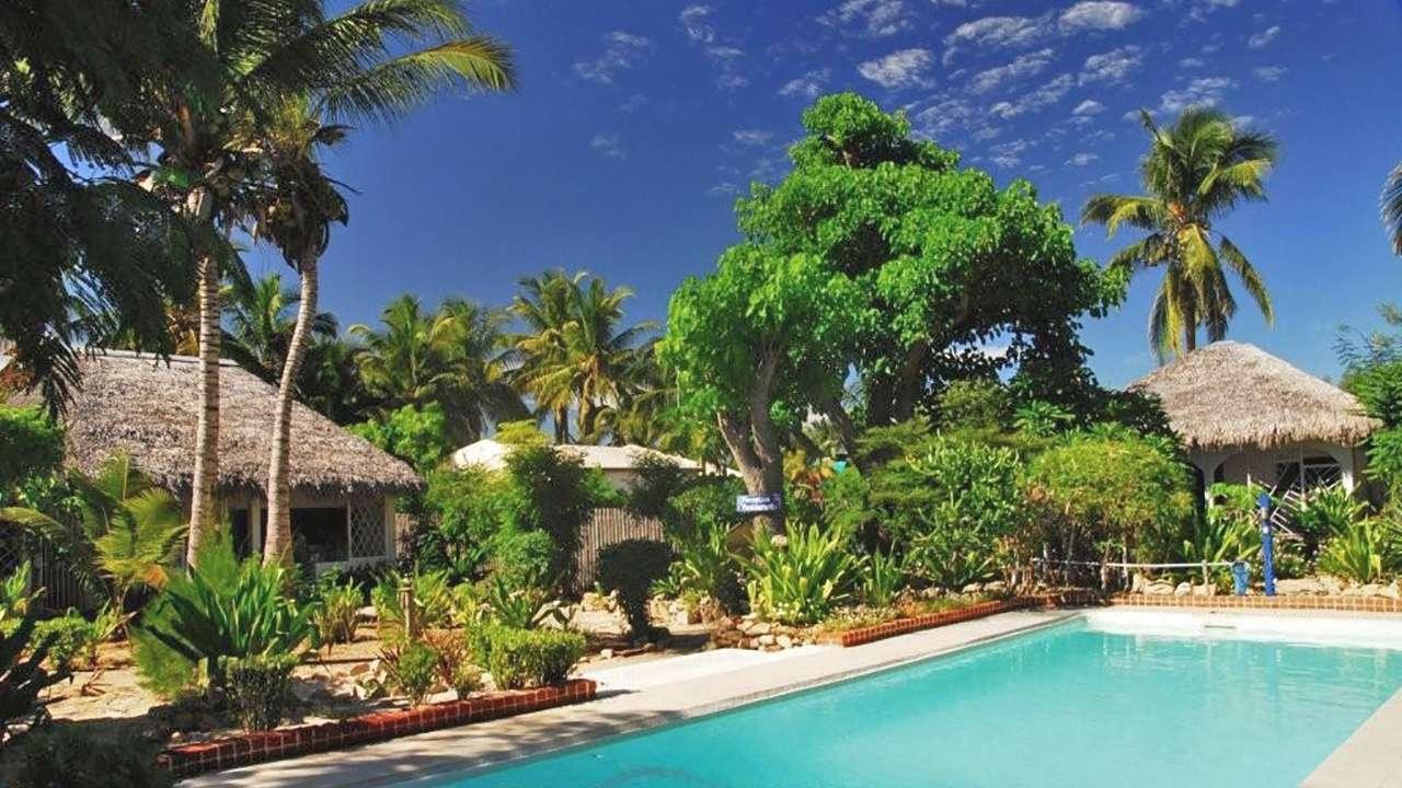 Pool Area, Chez Maggie, Morondava, Madagascar