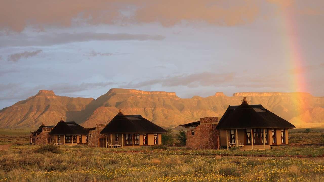 Exterior View, Hoodia Desert Lodge, Sossusvlei, Namibia
