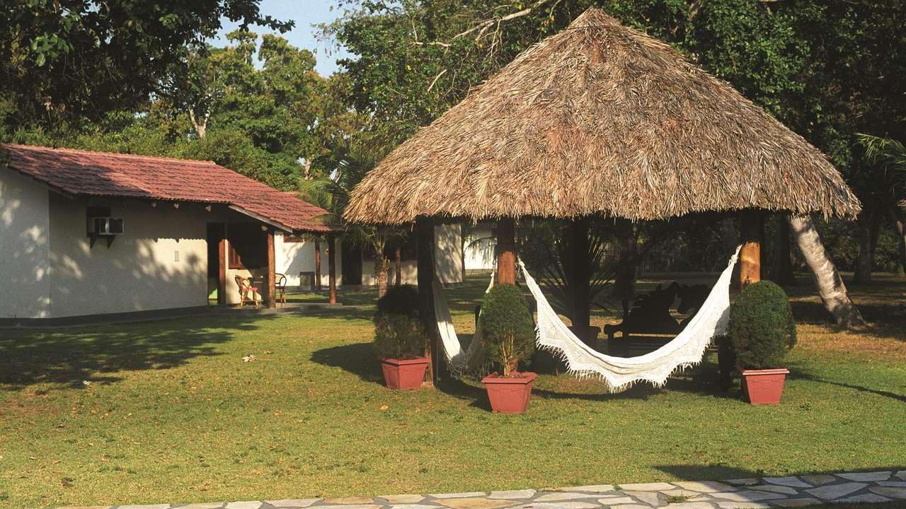 Exterior Front View, Pousada Rio do Mutum, Pantanal, Brazil