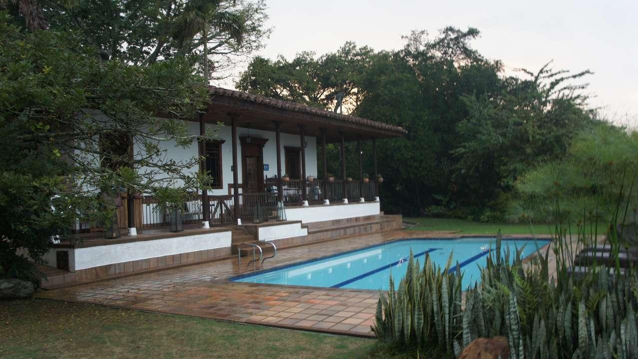 Pool, Casa de Campo El Delirio, Coffee Region, Colombia