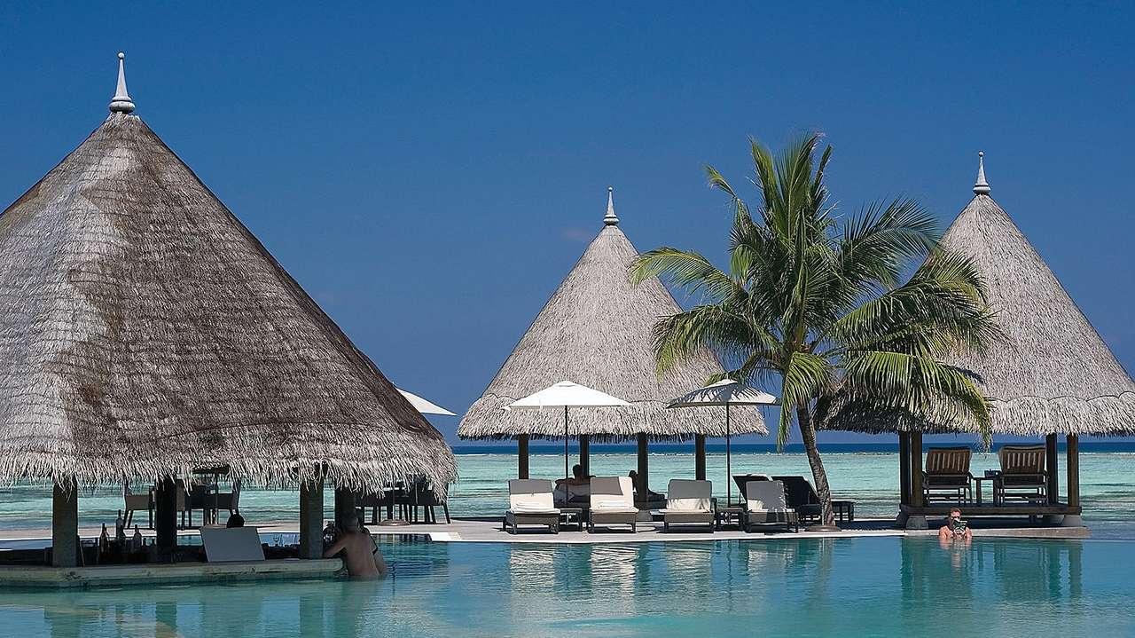 Pool, Four Seasons Resort Maldives at Kuda Huraa, Maldives