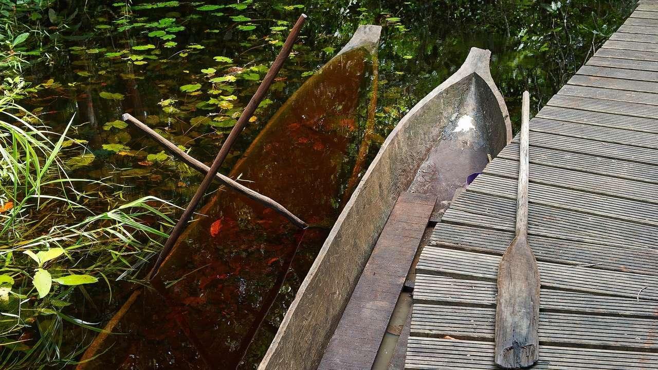 African Canoe, Congo