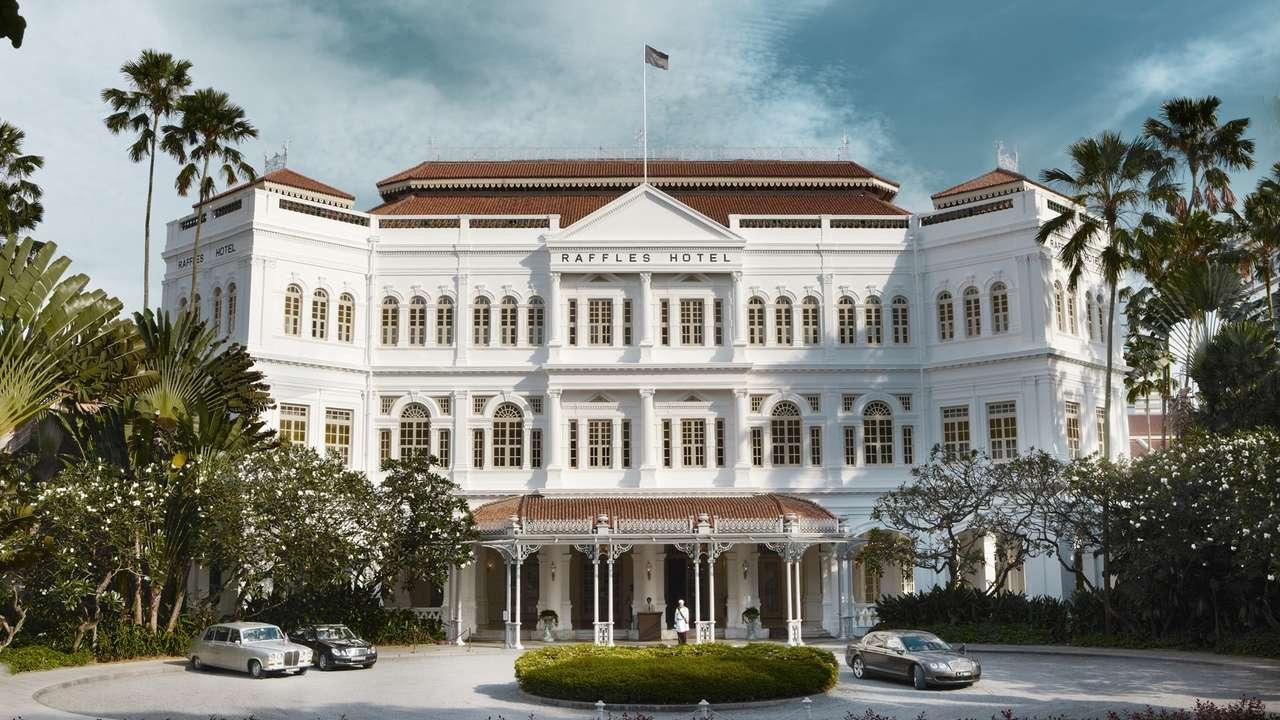 Exterior, Raffles Hotel, Singapore