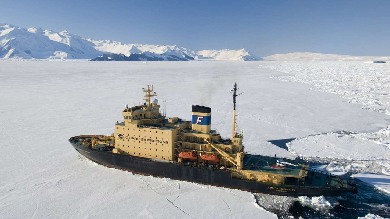 Kapitan Khlebnikov, Russian Arctic